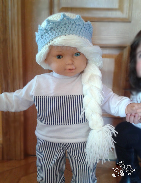 patron-peluca-lana-elsa-frozen