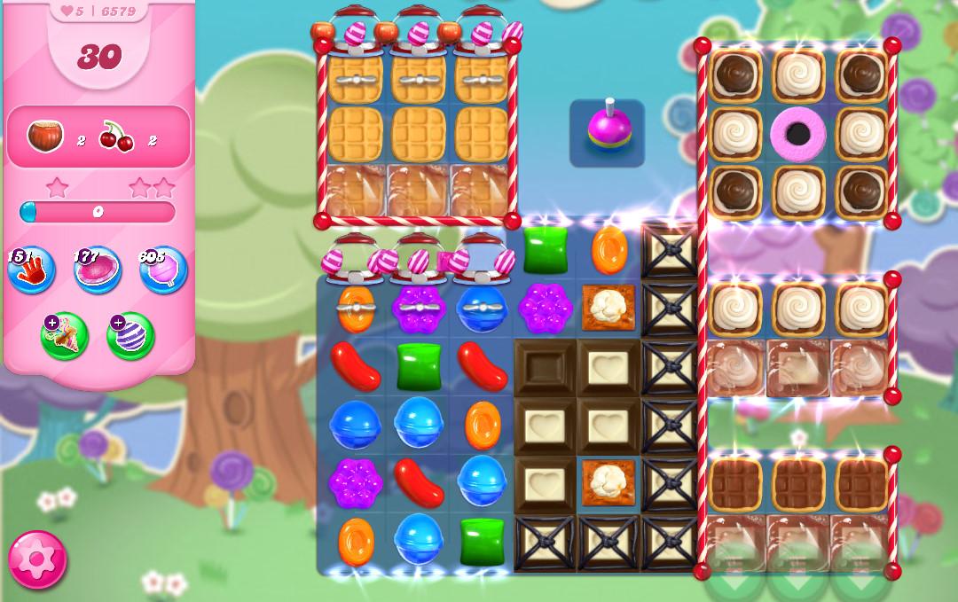 Candy Crush Saga level 6579