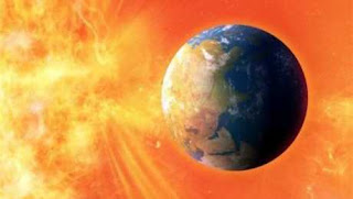 A solar storm hits the earth in days
