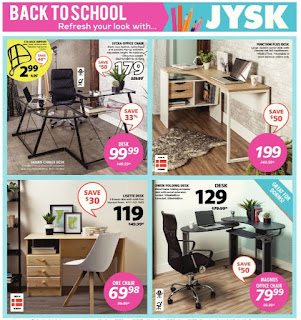 JYSK flyer calgary valid Aug 10 - 16, 2017