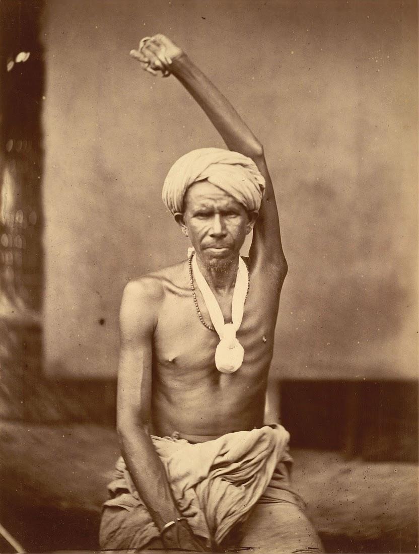 Urdha-Bahu Sannyasi, Eastern Bengal - 1860's