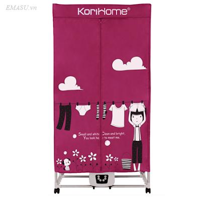 Cửa hàng bán buôn bán lẻ tủ sấy (máy sấy) quần áo chăn màn Korihome CDK236 (CDK-236) giá rẻ nhất Hà Nội