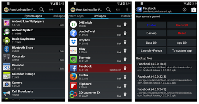 Root Uninstaller Pro v8.2 Apk Full Version Gratis