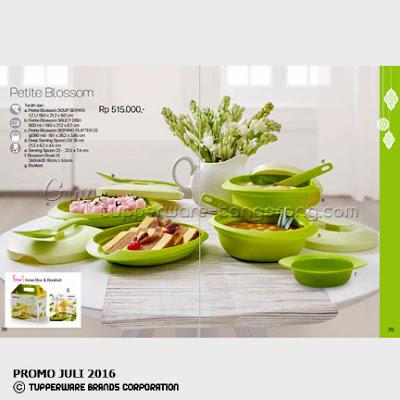 Petite Blossom ~ Katalog Tupperware Promo Juni 2016