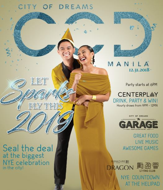 City of Dreams Manila: New Year Countdown to 2019