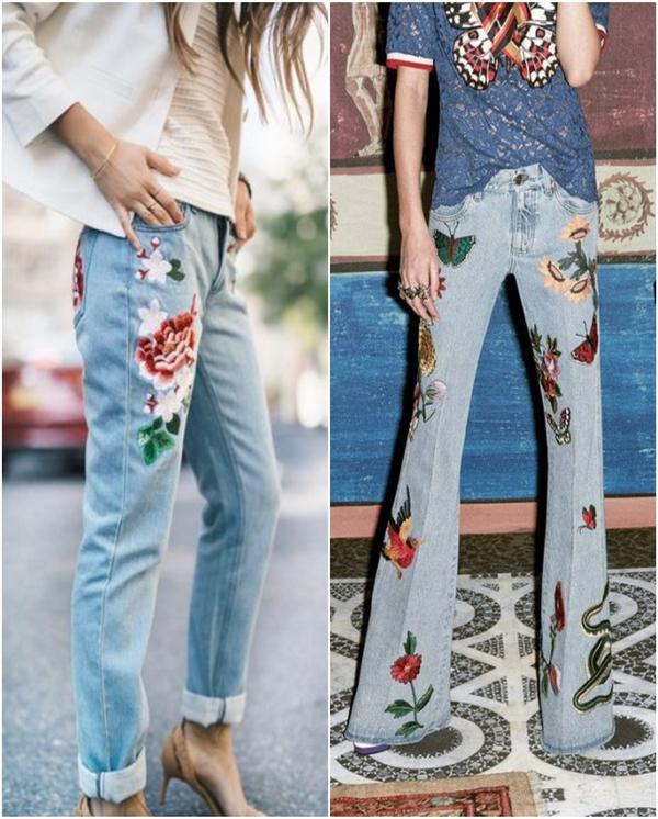 çiçekli-jean-modası