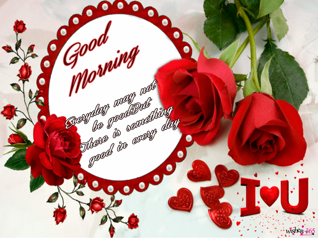 Poetry And Worldwide Wishes Good Morning Picture With Roses With
