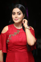 Poorna in Maroon Dress at Rakshasi movie Press meet Cute Pics ~  Exclusive 56.JPG