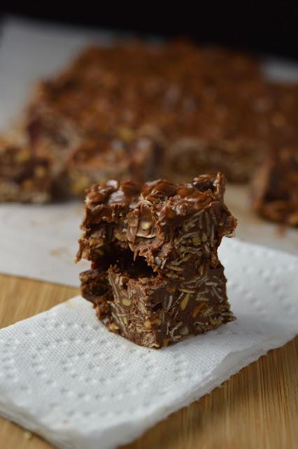 Peanut Butter, Oats and Cranberry Fudge Recipe
