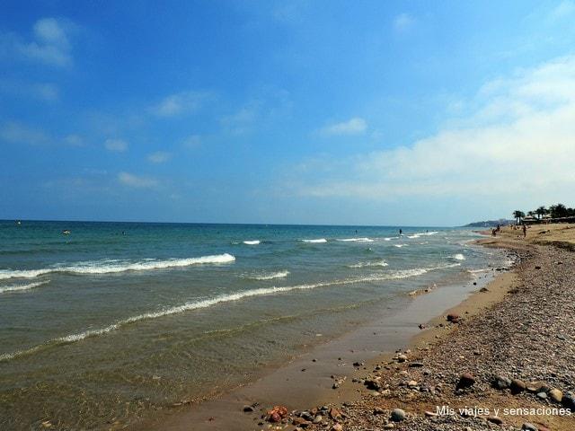 Playa de Marina D'or, ciudad de vacaciones, Oropesa del Mar, Castellón