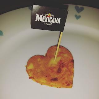 I love Mexicana cheese heart flag