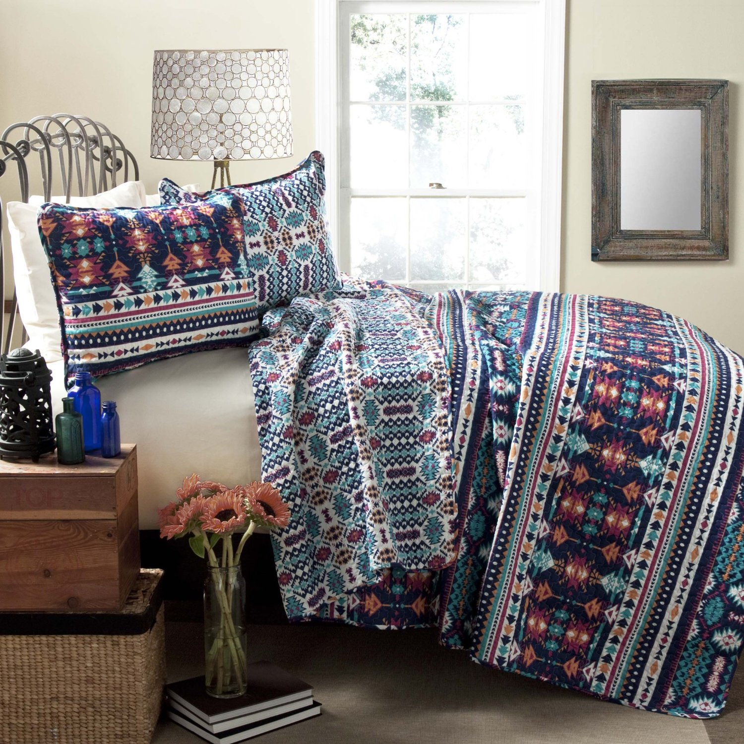 Southwest Style Bedding Sets On A Budget Can Produce Surprising Results Turquoise Accents