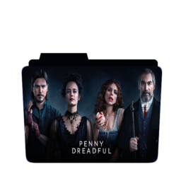 Preview of Penny dreadful, tv show, american tv show, folder icon