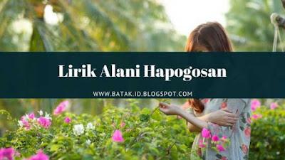 Lirik Alani Hapogosan