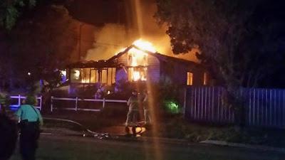 House Fire in Oatley West Baker Street