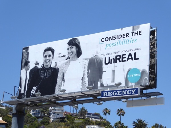 UnREAL season 2 Emmy billboard