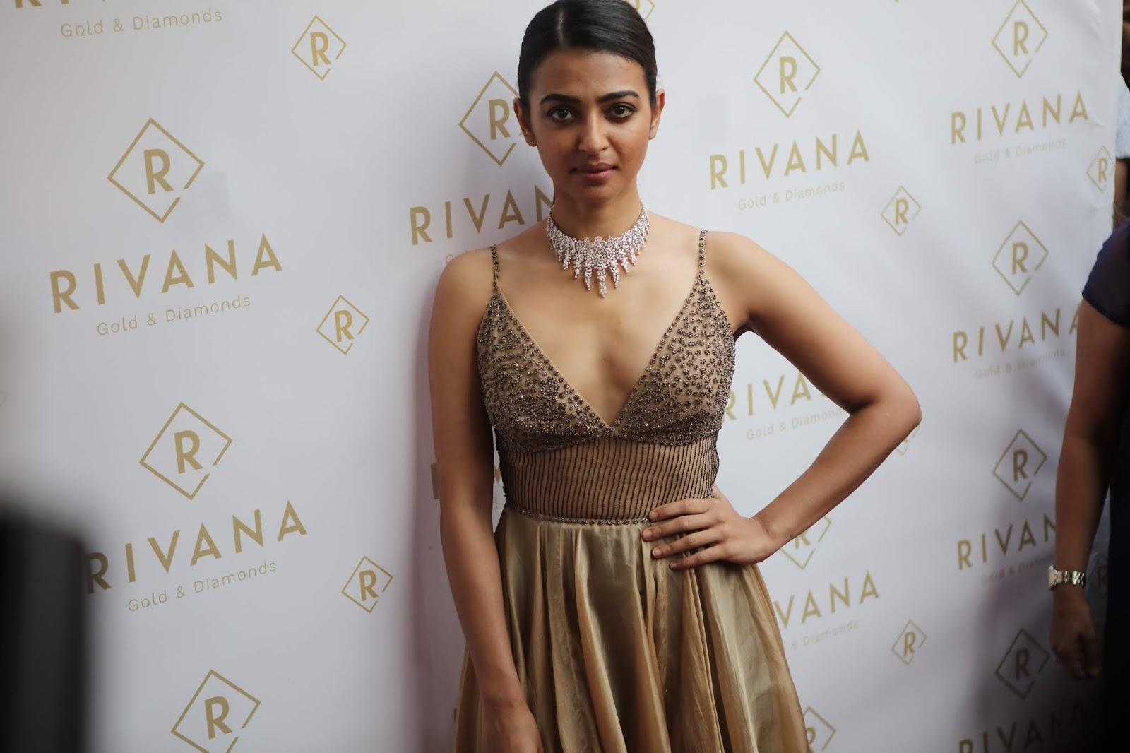 Radhika Apte Unveils Rivana Gold Diamonds Latest Edition Noya