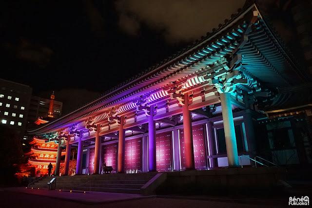 博多ライトアップウォーク2016、福岡