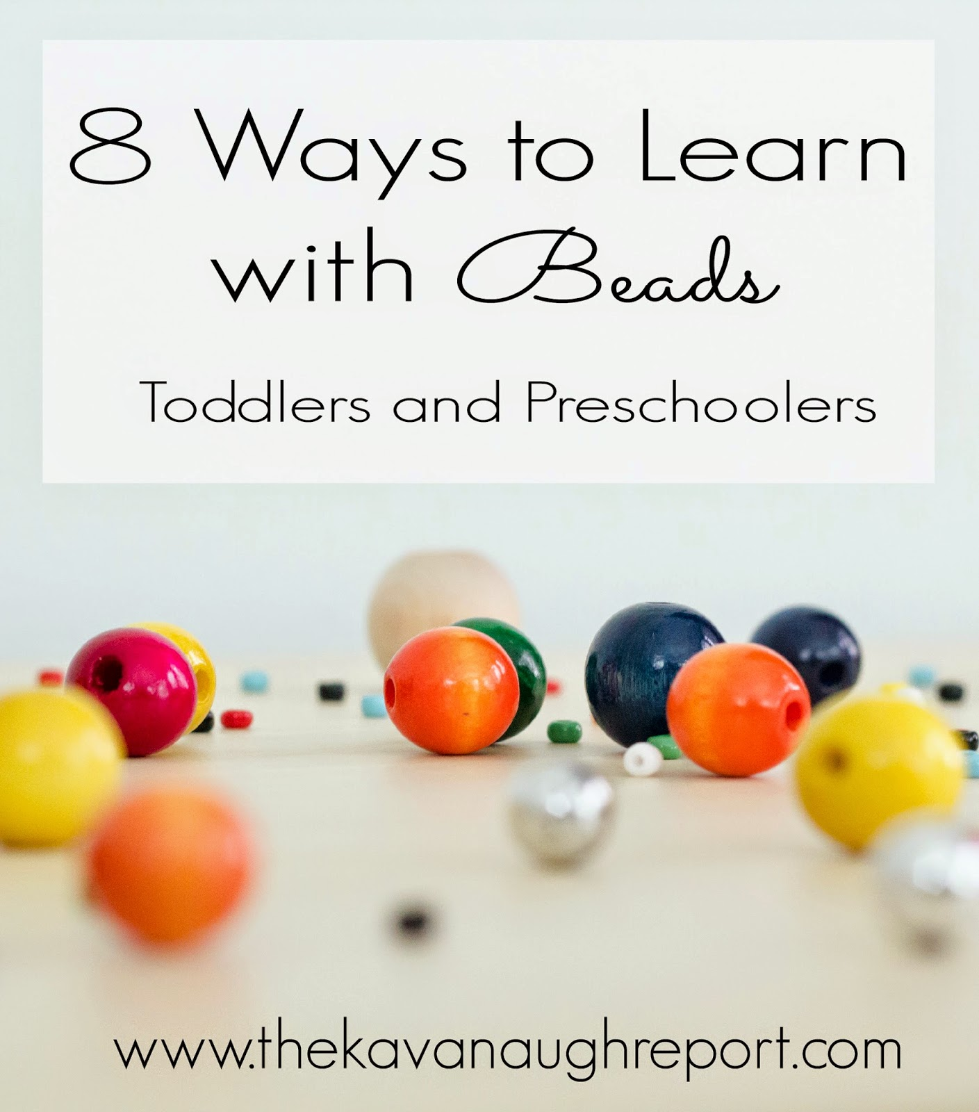 montessori, practical life, beads, preschool