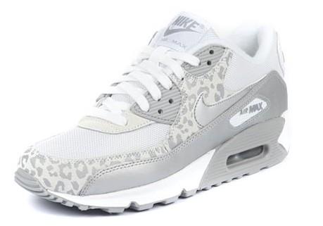 sports shoes c04b6 e375c Nike Air Max 90 W Leopard Weiss-Silber