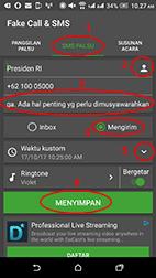 Panduan lengkap Cara Membuat SMS Palsu Terjadwal