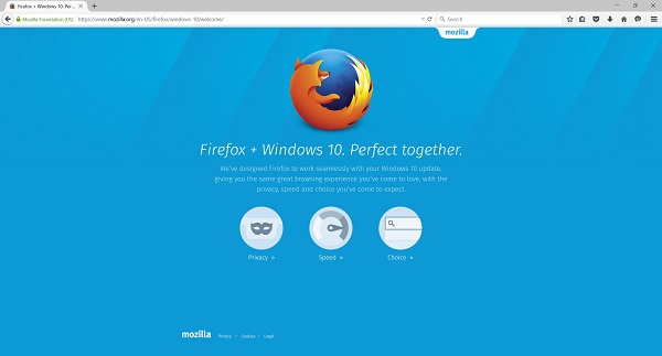 Firefox 40 arrives with Windows 10 support