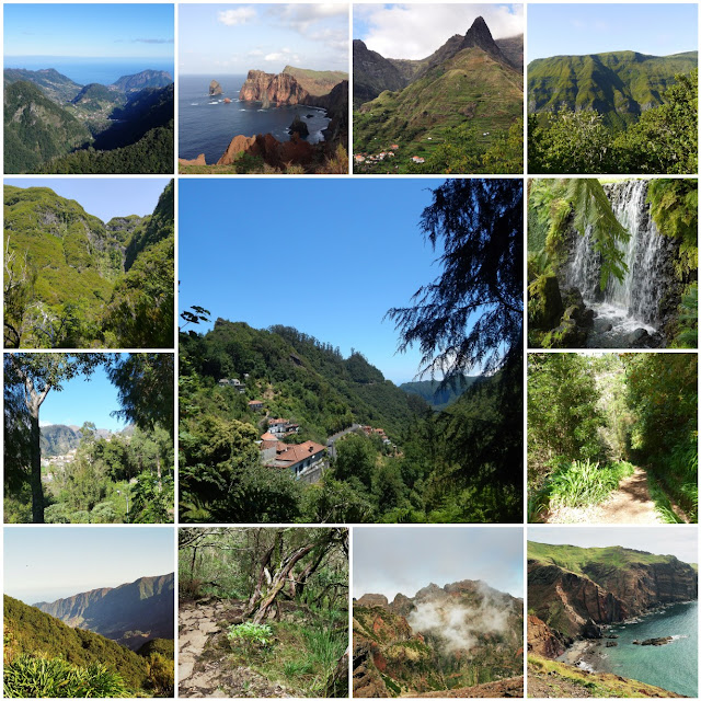 Walking trip to Sunny Madeira February 2017