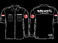 Desain Baju Kemeja Lengan Panjang Komunitas Pemuda