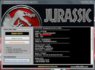 Jurassic-Universal-Android-Tool
