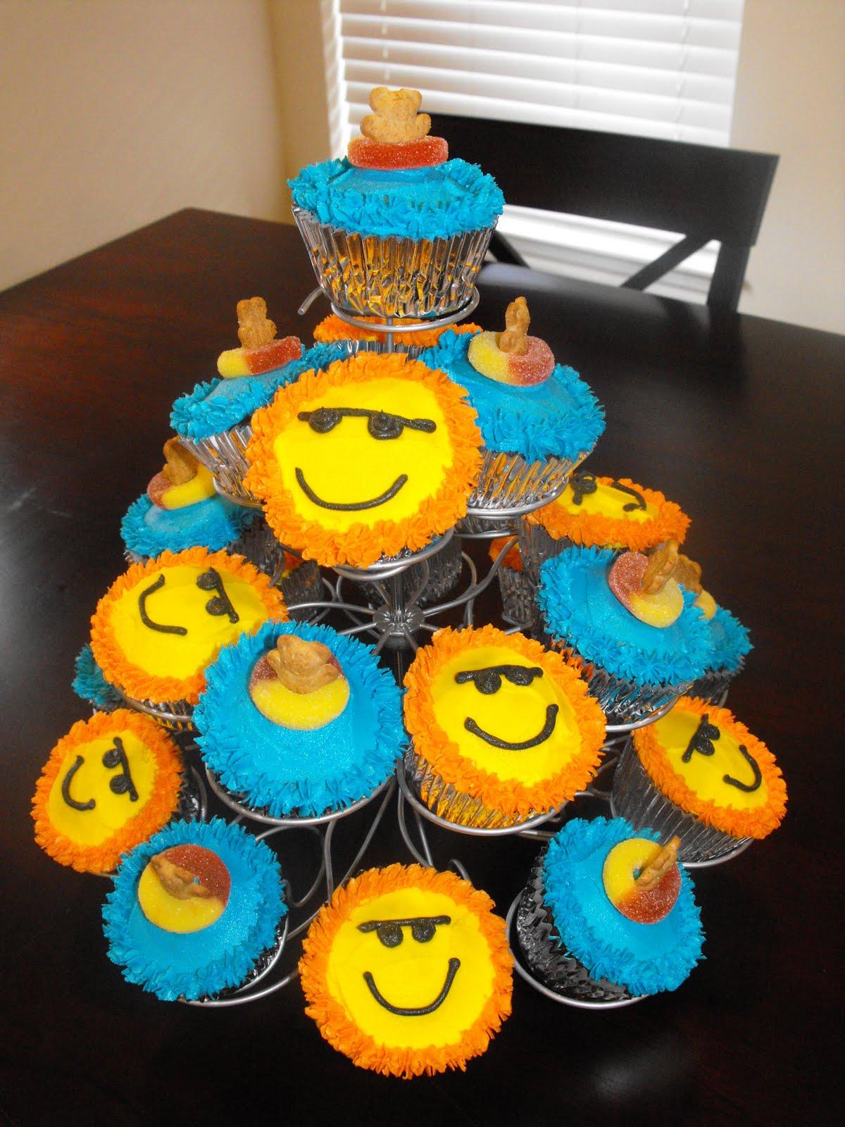 Aj S Cupcakes Pool Party Cupcakes