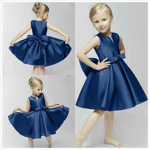 Model baju anak perempuan terbaru bahan saten ba4d86480b