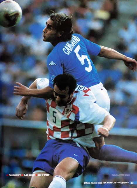 FABIO CANNAVARO ITALIA VS CROATIA