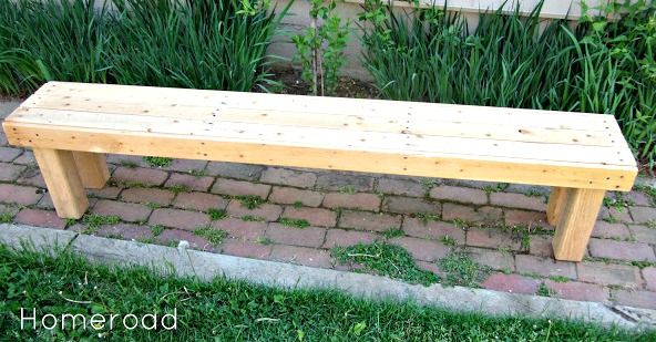 How to Build a Free Bench www.homeroad.net