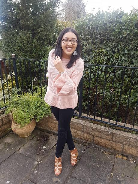 pink jumper for spring