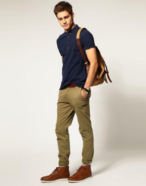 250c87c088 Camisa Polo Masculina com Calça Jeans é uma das Combinações mais versáteis  que temos pra usar! Nesse caso