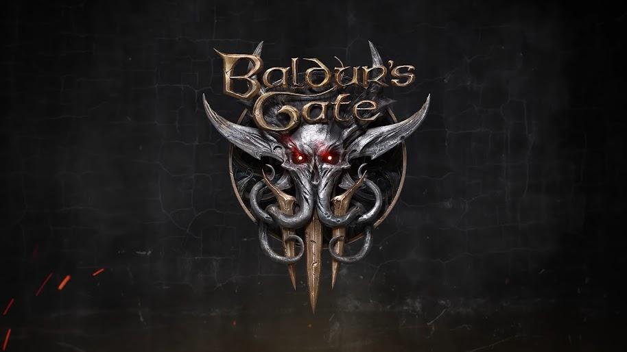 Baldurs Gate 3 Logo 4k Wallpaper 2
