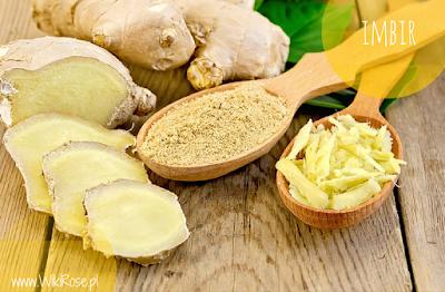 Imbir (ginger) - właściwości lecznicze