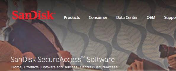 SanDisk SecureAccess Software
