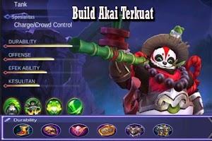 Akai Hero Tank Wajib Pick di Ranked Mobile Legends