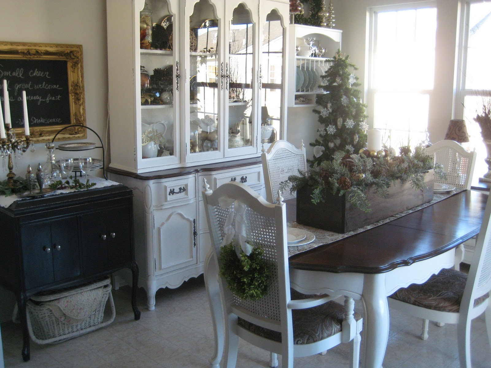 A Comfy Little Place of My Own: Chair Wreaths and the ...