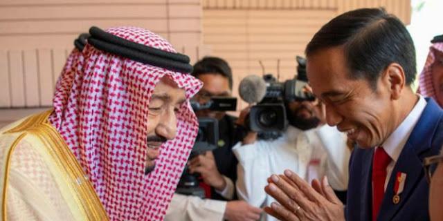 Raja Salman Apresiasi Kepemimpinan Presiden RI