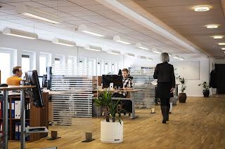 Iluminacion en oficina