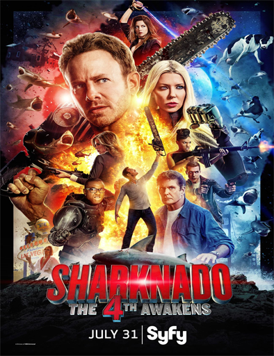 Ver Sharknado: Que la 4ª te acompañe (2016) Online