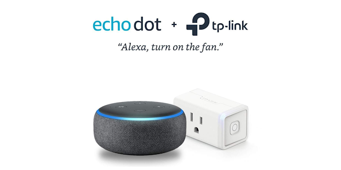 Get Amazon Echo Dot and Smart Plug bundle 62% off