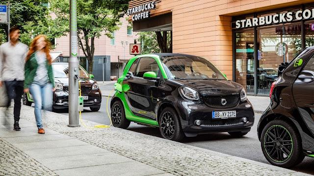 Smart ForTwo Electric Drive - Carga completa en sólo 2,5 horas