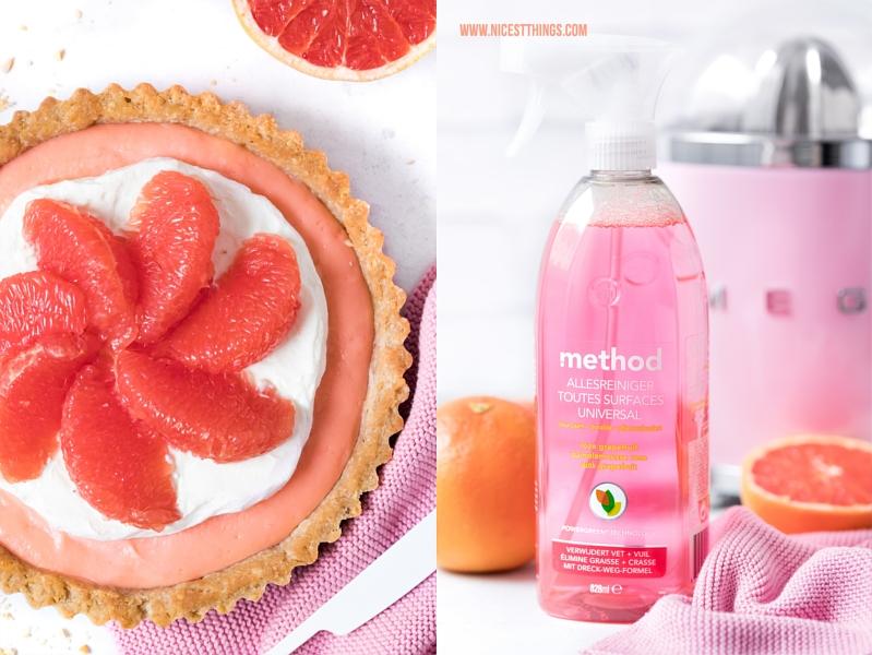 Pink Grapefruit Tarte Rezept und method Universalreiniger