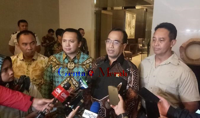 Empat Pentolan Pejabat Tandatangani MoU, Tanda Dimulai Operasinya Lapangan Terbang Gatot Subroto