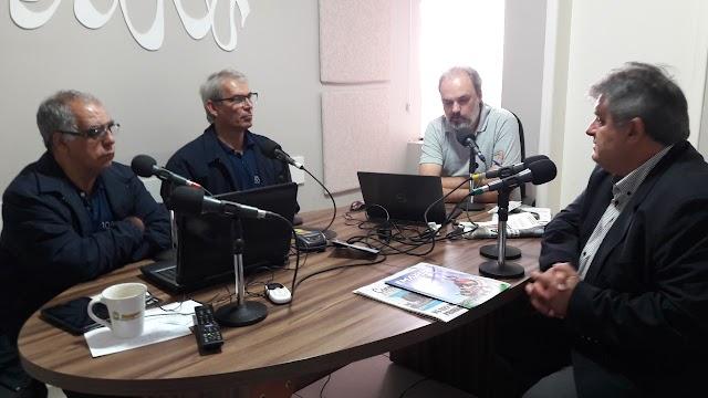 Presidente do Emater cumpre agenda na região macro noroeste que inclui visita na Coamo.