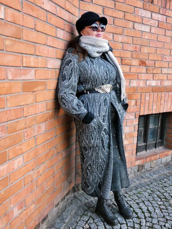 Sweter Vintage, Dr Martens