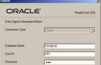 login fluid peoplesoft psadmin connect call why